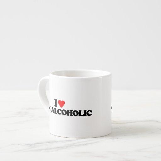I LOVE NON-ALCOHOLIC ESPRESSO CUP