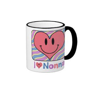 I Love Nonna Ringer Mug