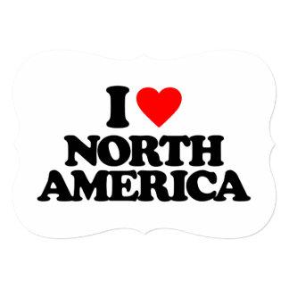 I LOVE NORTH AMERICA CUSTOM ANNOUNCEMENTS