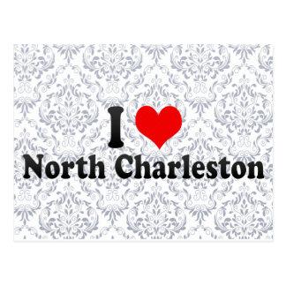 I Love North Charleston, United States Post Card