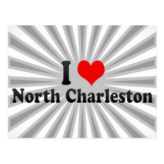 I Love North Charleston, United States Postcard