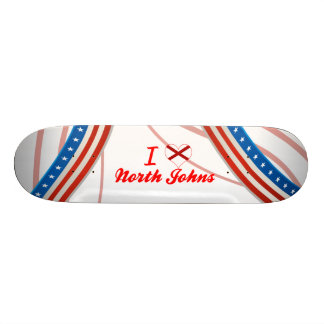 I Love North Johns, Alabama Skate Deck