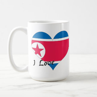 I love North Korea Coffee Mug