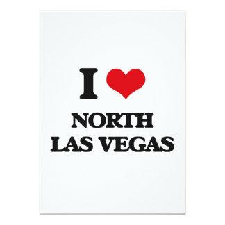 "I love North Las Vegas 5"" X 7"" Invitation Card"