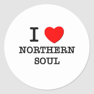 I Love Northern Soul Stickers