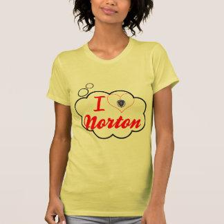 I Love Norton Massachusetts T-shirt