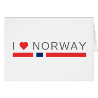 I love Norway Card