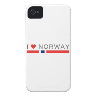 I love Norway Case-Mate iPhone 4 Cases