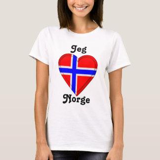 I love Norway - Jeg elsker Norge T-Shirt