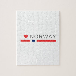 I love Norway Jigsaw Puzzle