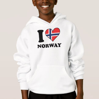 I Love Norway Norwegian Flag Heart