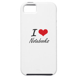 I Love Notebooks Case For The iPhone 5