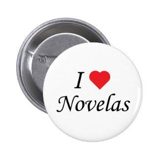 I Love Novelas Pin