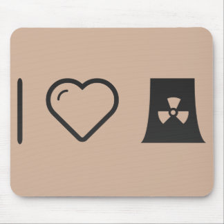 I Love Nuclear Energy Mouse Pad
