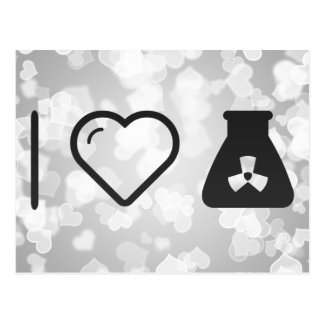 I Love Nuclear Energys Postcard