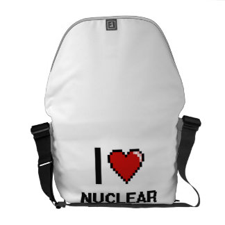 I love Nuclear Engineers Courier Bag