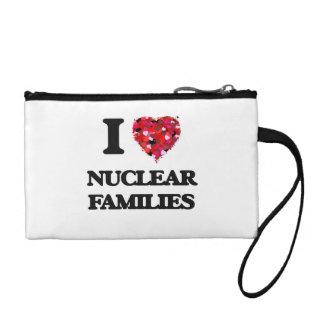 I Love Nuclear Families Change Purse