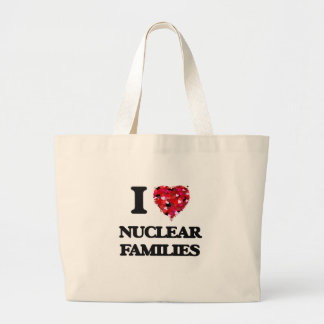 I Love Nuclear Families Jumbo Tote Bag