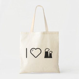 I Love Nuclear Powers Budget Tote Bag