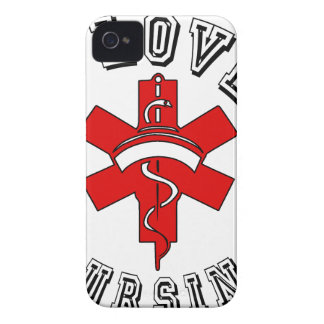 i love nursing health iPhone 4 cases