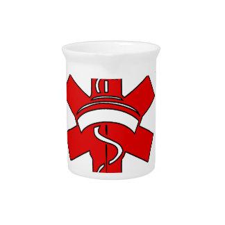 i love nursing health pitcher