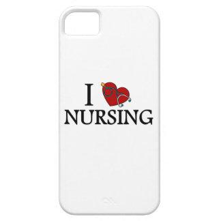 I Love Nursing iPhone 5 Cover