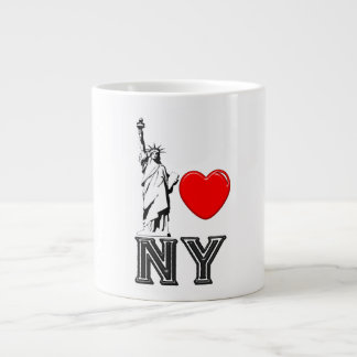 I Love NY Large Coffee Mug