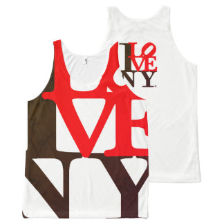I Love NY New York S. Edition All-Over Print Singlet