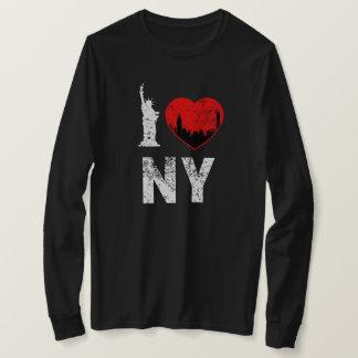 I Love NY Shirt, womens shirt, New York City T-Shirt