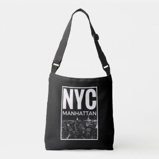 I Love NYC New York Manhattan skyline Crossbody Bag