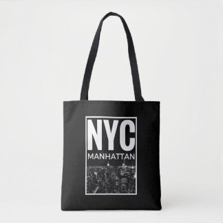 I Love NYC New York Manhattan skyline Tote Bag
