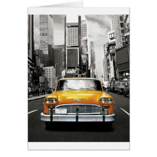 I Love NYC - New York Taxi Card