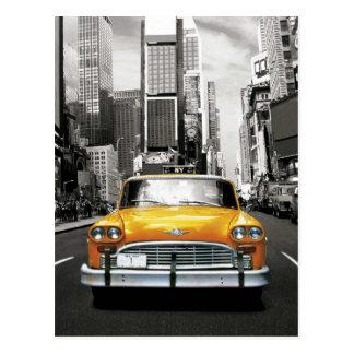 I Love NYC - New York Taxi Postcard