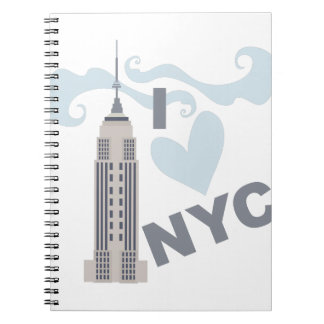 I Love NYC Notebook