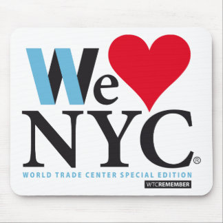 I LOVE NYC WE LOVE NYC DO YOU MOUSE PAD