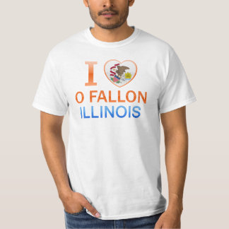 I Love O Fallon, IL T-Shirt