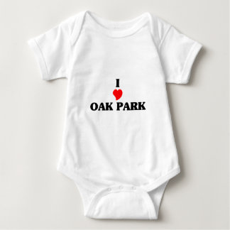 I love Oak Park Il Baby Bodysuit