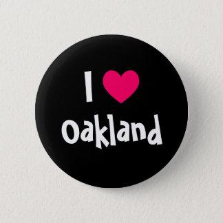 I Love Oakland 6 Cm Round Badge