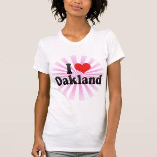 I Love Oakland T Shirt