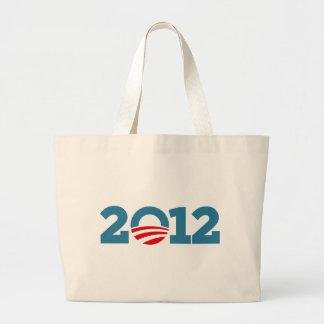 I love Obama 2012 Jumbo Tote Bag