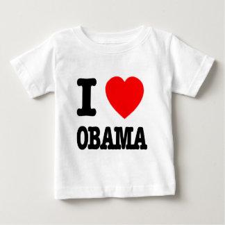 I Love Obama Baby T-Shirt