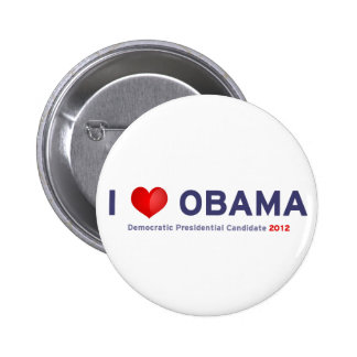 I love Obama Buttons