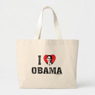 I Love Obama Bags