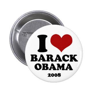 I LOVE OBAMA - button