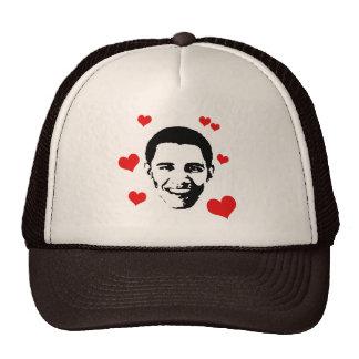 I Love Obama Mesh Hat