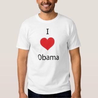I Love Obama Tee Shirts