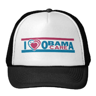 I Love ObamaCare Trucker Hat