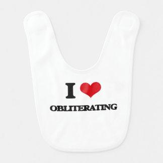 I Love Obliterating Baby Bibs