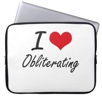 I Love Obliterating Computer Sleeve