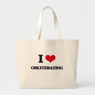 I Love Obliterating Jumbo Tote Bag